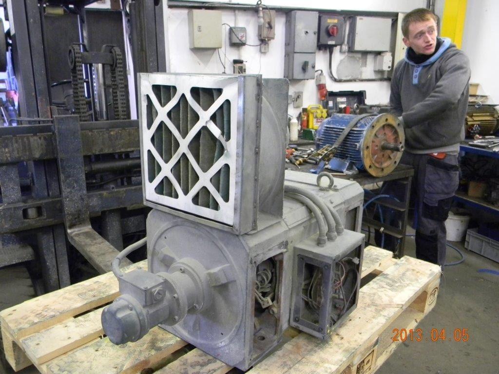 Submersible pumps repairs